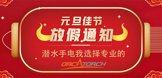 OrcaTorch虎鲸 2021元旦放假通知